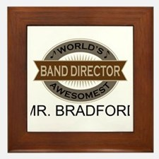 Awesome Band Director Framed Tile