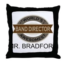 Awesome Band Director Throw Pillow