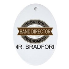Awesome Band Director Ornament (Oval)