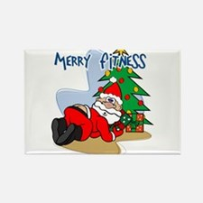 Cute Pilates holiday Rectangle Magnet
