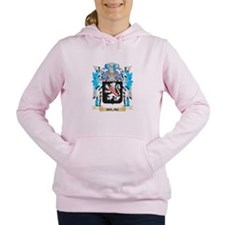 Cute Holmes tartan Women's Hooded Sweatshirt