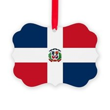 Dominican Republic Flag Ornament