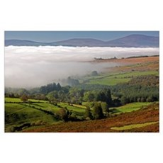 Nire Valley Landscape; Clonmel, County Tipperary,  Poster