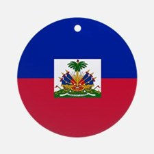 Flag of Haiti Ornament (Round)