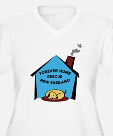 Forever Home Rescue logo-2 Plus Size T-Shirt