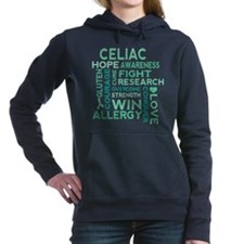 Celiac Disease awareness Women's Hooded Sweatshirt