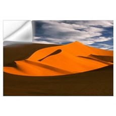 Sand Dunes And Clouds, Namib Desert, Namibia, Afri Wall Decal