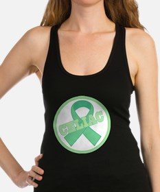 Celiac Disease awareness Racerback Tank Top