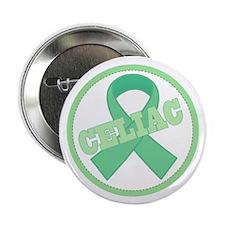 """Celiac Disease Ribbon 2.25"""" Button (10 pack)"""