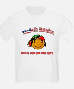 St Kitts American T-Shirt
