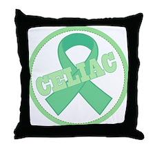 Celiac Disease Ribbon Throw Pillow