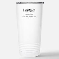 I am coach Travel Mug