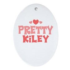 Kiley Oval Ornament