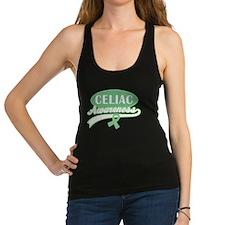 Celiac Disease awareness Racerback Tank Top