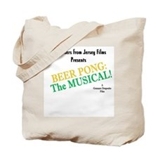 Beer Pong the Musical Tote Bag