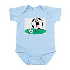 Soccer Ball Sports Gear Infant Creeper