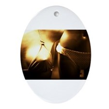 Unique Nude naked photos Ornament (Oval)