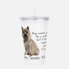 Cairn Terrier Mom Acrylic Double-wall Tumbler