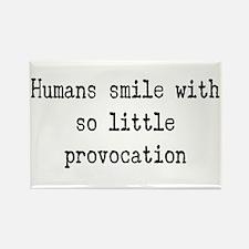 humans smile Magnets