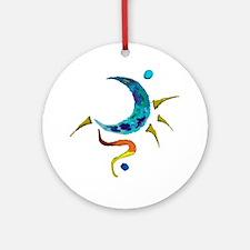 Elemental Moon Ornament (Round)