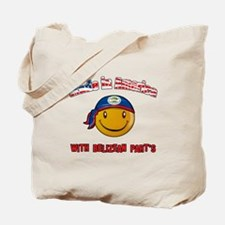 Belizean American Tote Bag