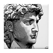 HEAD OF DAVID Tile Coaster