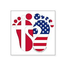 Danish American Baby Sticker