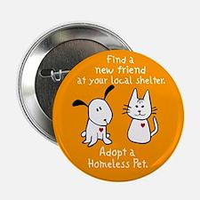 "Find a New Friend 2.25"" Button"