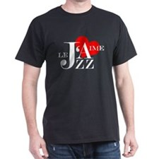 I love Jazz - J'aime Le Jazz T-Shirt