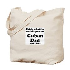 Cuban dad looks like Tote Bag