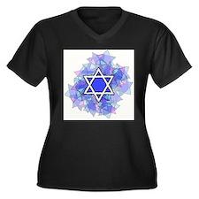 Star of David Plus Size T-Shirt