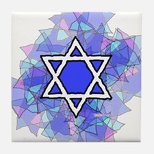 Cute Rabbi Tile Coaster