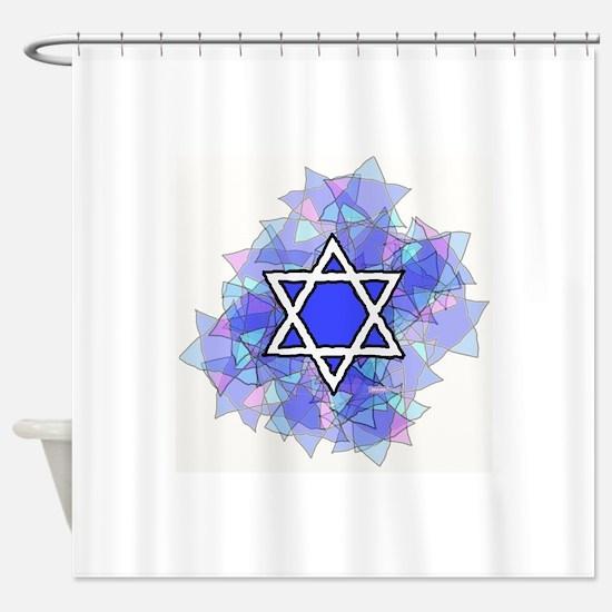 Cute Judaism Shower Curtain