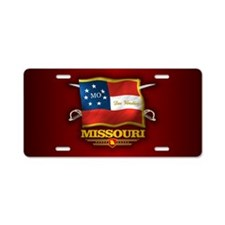 Missouri DV Aluminum License Plate