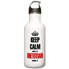 Keep calm and let a Di Water Bottle