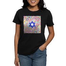 The Star of David and the Circles. T-Shirt