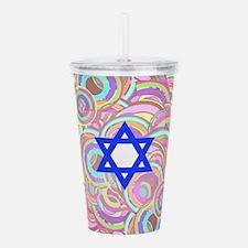 Unique Rabbi Acrylic Double-wall Tumbler