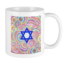 The Star of David and the Circles. Mugs