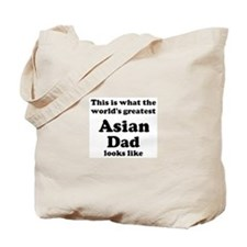 Asian dad looks like Tote Bag