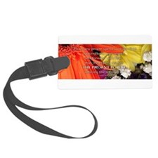 Flower - Quote Luggage Tag