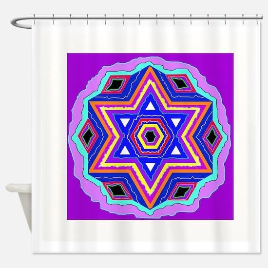Unique Judaism Shower Curtain