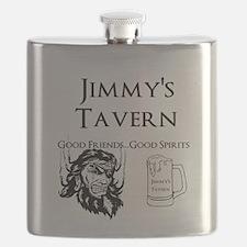 Personalized Pub Bar Flask