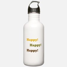 Happy! Happy! Happy! Water Bottle