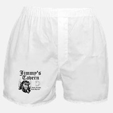 Personalized Bar Man Cave Logo Boxer Shorts