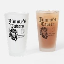 Personalized Bar Man Cave Logo Drinking Glass