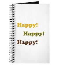 Happy! Happy! Happy! Journal