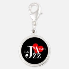 I Love Jazz - French Music Lover Charms