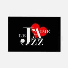 I Love Jazz - French Music Lover Magnets