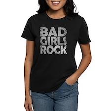 BAD GIRLS ROCK WHITE Tee