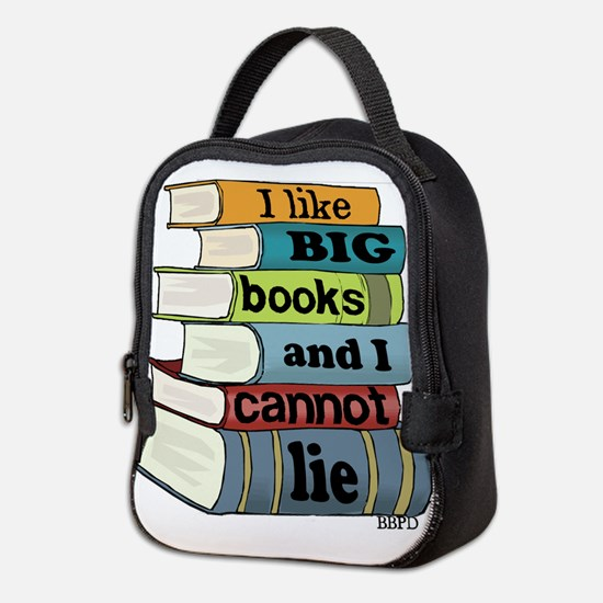 I Like Big Books Neoprene Lunch Bag